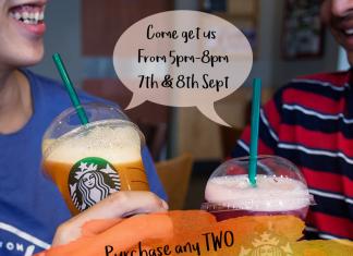 Starbucks Malaysia Promotion September 2017
