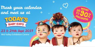 Today's Baby Expo Promotion 2017