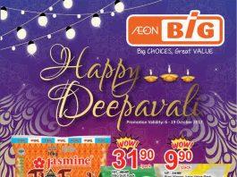 AEON BIG Malaysia Promotion October 2017 Happy Deepavali Deals