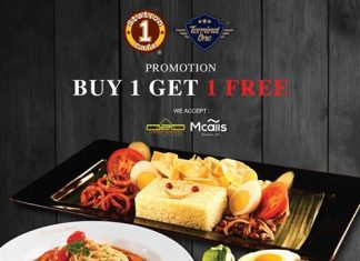 Station One Cafe Promotion October 2017 Buy 1 Free 1 Deal
