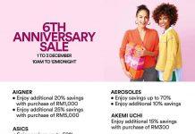 Johor Premium Outlets 6th Anniversary Sale