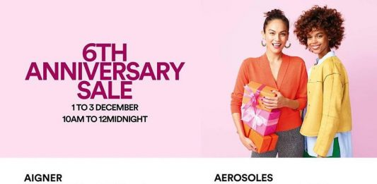 Johor Premium Outlets 6th Anniversary Sale