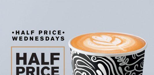 McDonald's Malaysia McCafe Half Price Promotion November 2017