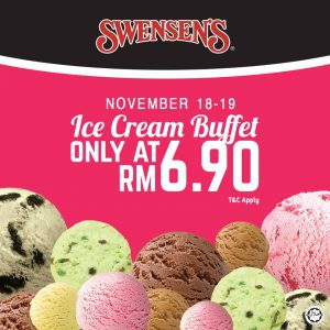 Swensen's Ice Cream Buffet Promotion November 2017