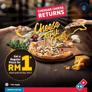Domino's Pizza Promotion December 2017