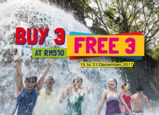 Sunway Lagoon ticket promotion December 2017