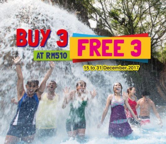 Sunway Lagoon ticket promotion December 2017