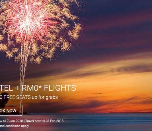 AirAsia Free Seat Promo January 2018