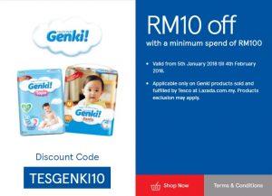 Tesco Malaysia Promotion RM10 Off Tesco Promo Code