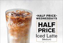 McCafe Half Price Promotion Feb 2018