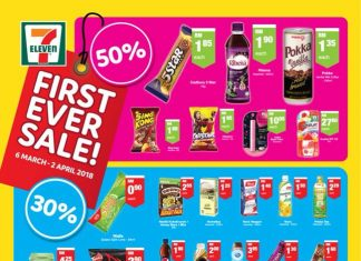7 Eleven Promotion March 2018