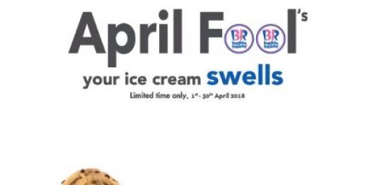 Baskin Robbins Ice Cream Promotion April 2018