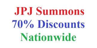 JPJ Summons 70% Discounts April 2018