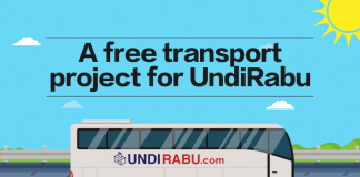 Free Transport Project for General Election 2018 GE14 UndiRabu