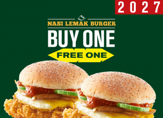 McDonald's Nasi Lemak Burger Promotion Buy 1 Free 1