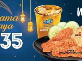 Wendy's Malaysia Promotion June 2018 Hari Raya Deals