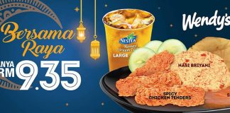 Wendy's Malaysia Promotion June 2018 Hari Raya Deals