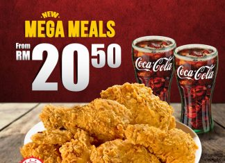 Texas Chicken Malaysia Promotion July 2018