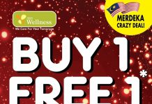 AEON Wellness Promotion Storewide Buy 1 Free 1 Merdeka Deal