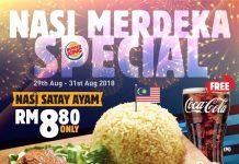 Burger King Malaysia Promotion Merdeka Special 2018