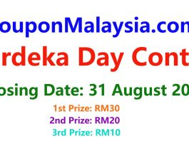 CouponMalaysia.com Merdeka Day Contest 2018