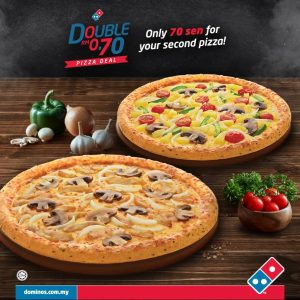 Domino's Pizza Malaysia Promotion August 2018