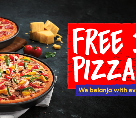 Pizza Hut promotion Buy 1 Free 1 Deal