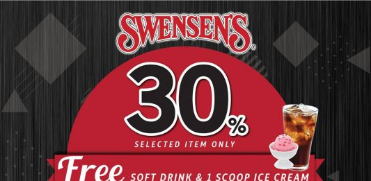Swensen's Malaysia Promotion September 2018
