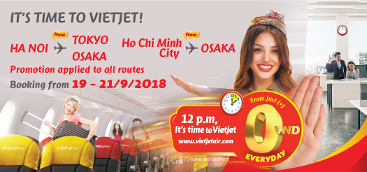 Below are all of the Vietjet Air Promo Code for December