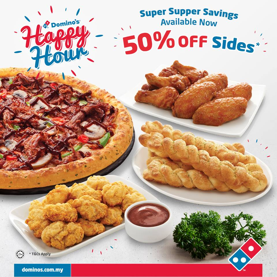 Domino Pizza Malaysia Promotion Jan 2019 50 Off Coupon Malaysia Malaysia Sales Malaysia Freebies Malaysia Promotion Vouchers Coupon Codes Warehouse Sales Daily Deals Deals Malaysia