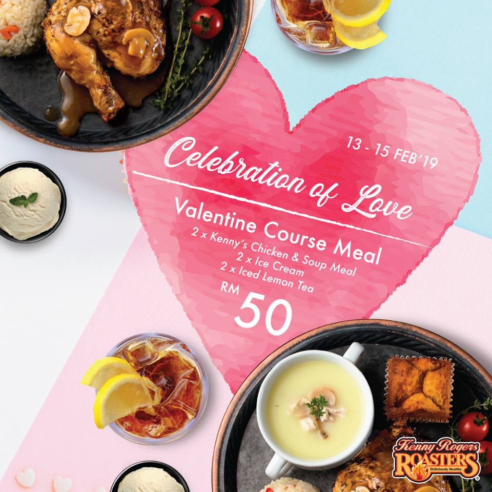 Kenny Rogers Malaysia promotion Valentine Day Deals