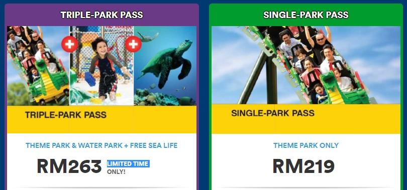 Legoland Malaysia Annual Pass Early bird Promo