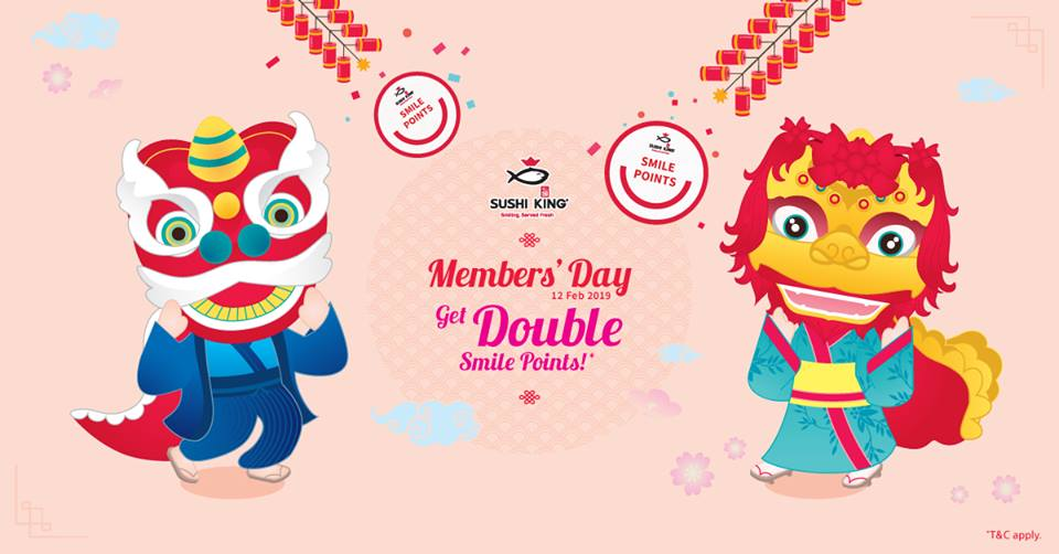 Sushi King Malaysia promotion Members Day Points
