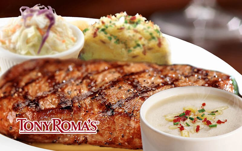 Tony Roma's New York Strip Steak Promotion 19% OFF