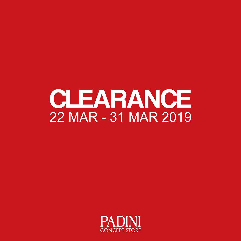 0bcfac7adc Padini Concept Store Clearance Sale March 2019 - Coupon Malaysia ...