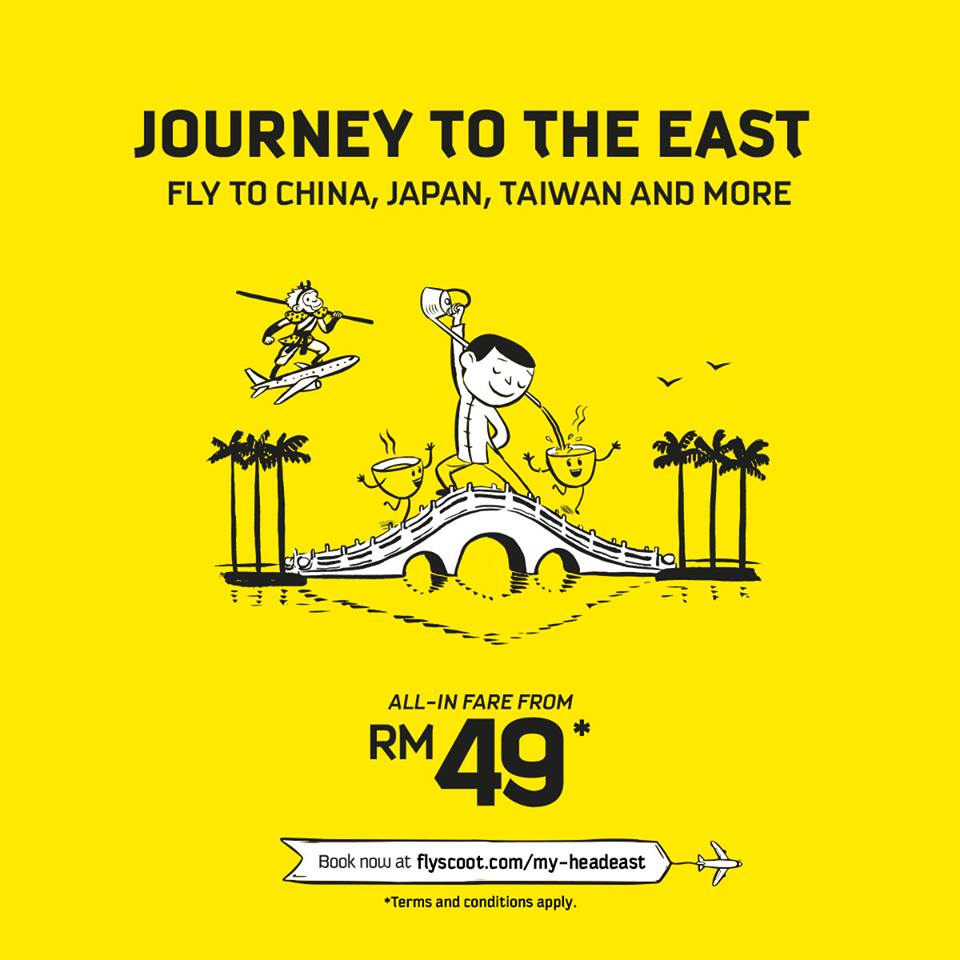 Scoot Air Ticket Promotion March 2019
