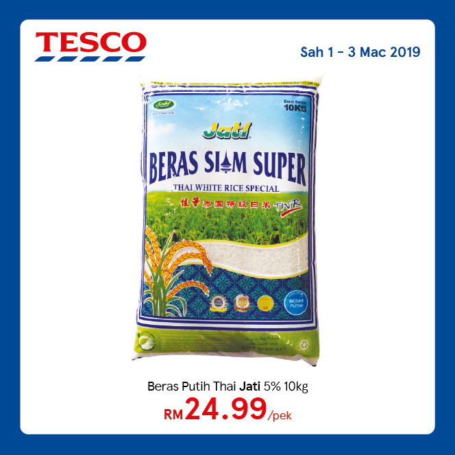 Tesco Malaysia Promotion March 2019