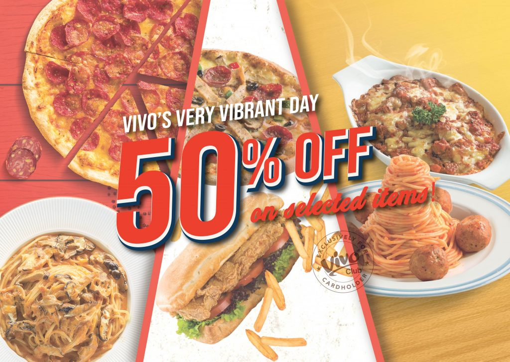 Vivo Pizza Malaysia Promotion March 2019