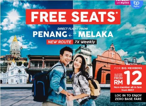 AirAsia Free Seat Promo New Route Deal April 2019