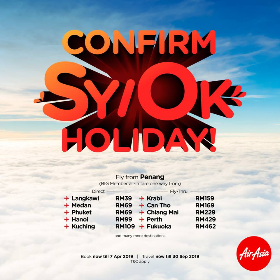 AirAsia Promotion April 2019