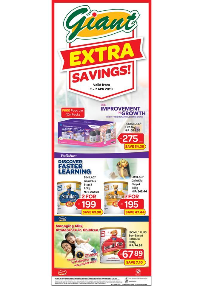 Giant Malaysia Promotion Extra Savings April 2019