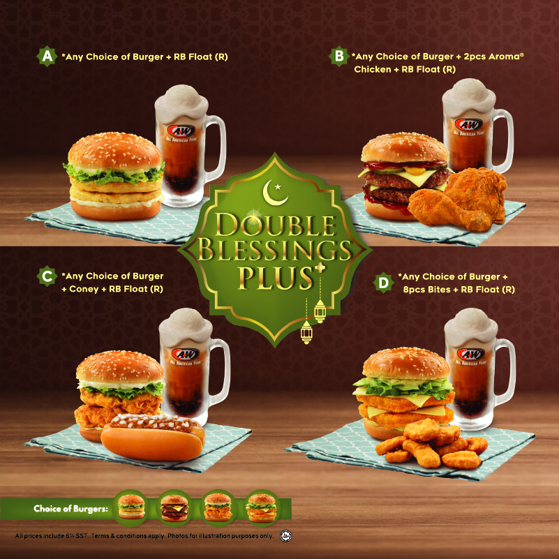 A&W Malaysia Promotion May 2019