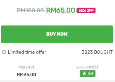 Chir Chir Malaysia Cash Voucher