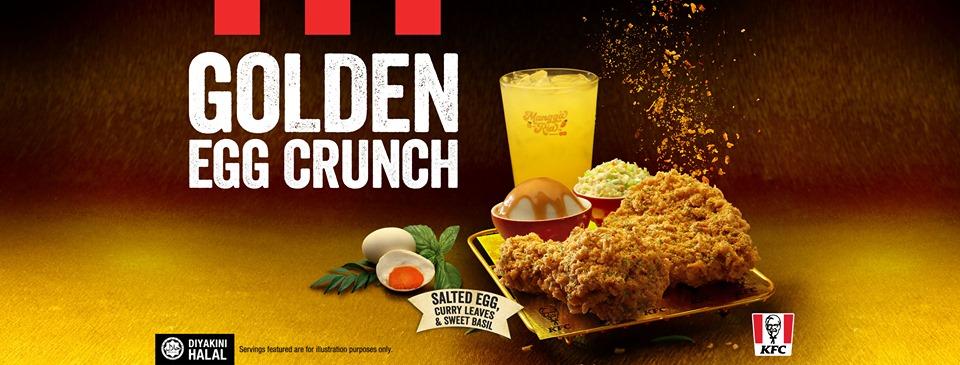 KFC Golden Egg Crunch May 2019