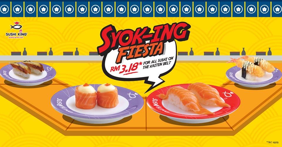 Sushi King Promotion May 2019