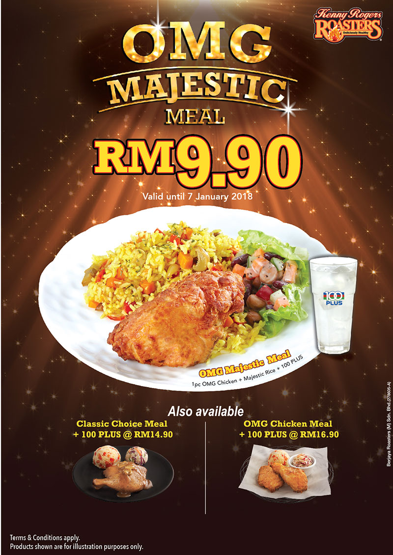 Kenny Rogers Roasters Promotion December 2017 Couponmalaysia Com