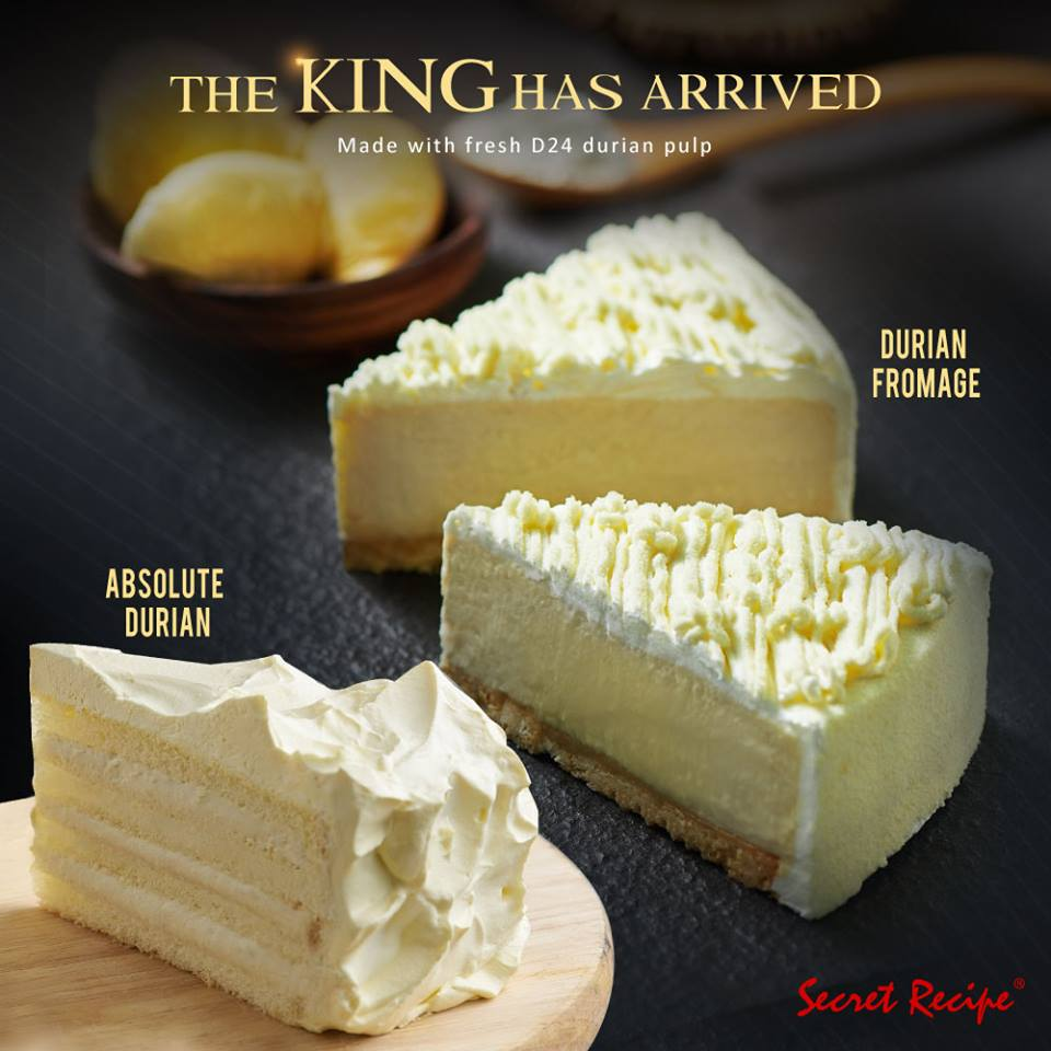Secret Recipe Cakes Durian Flavour April 2019